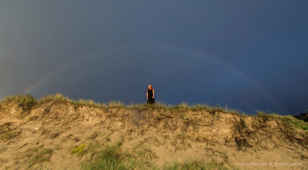 the rainbow lady