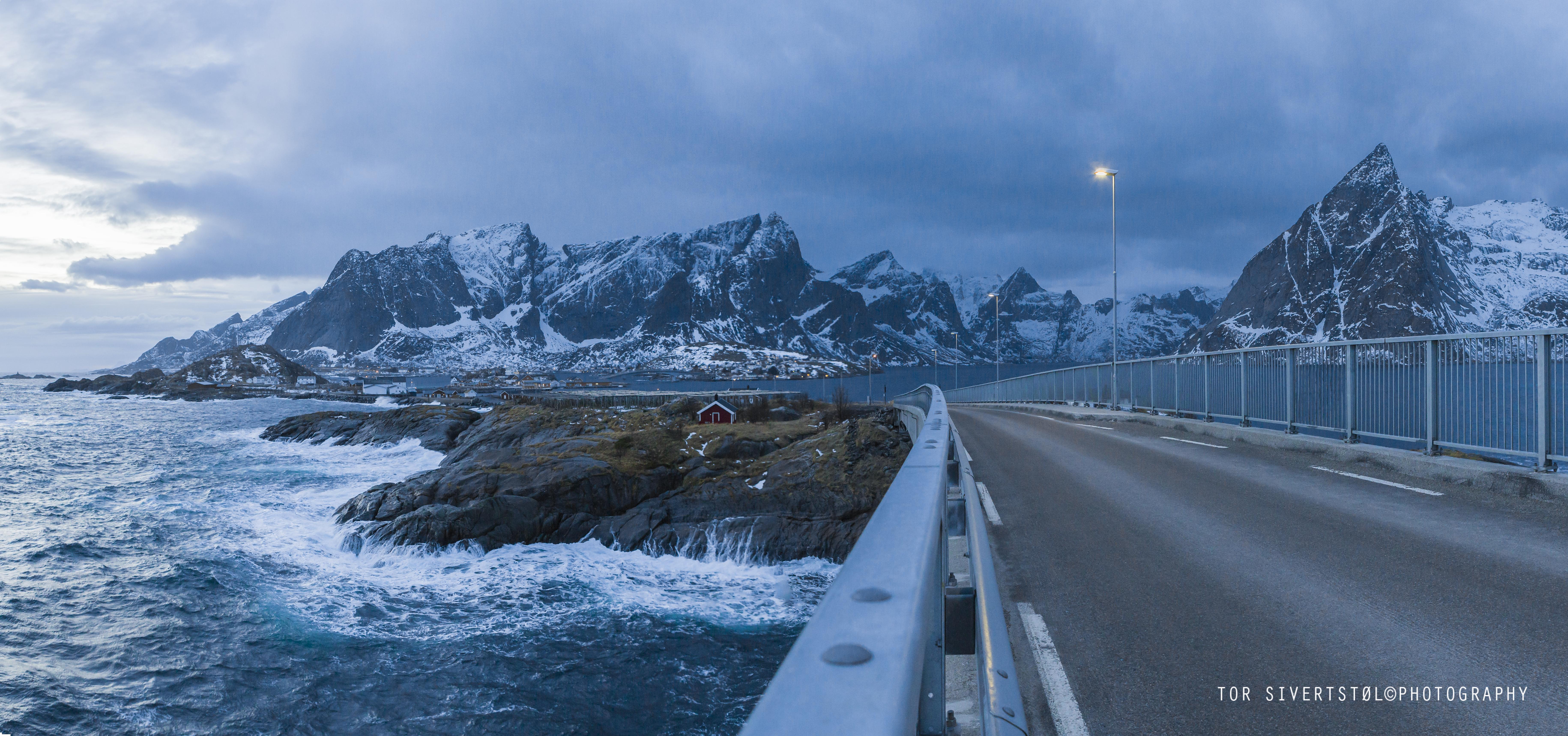 Panorama Sakrisøy copyright